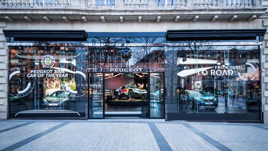 Peugeot Avenue Paris