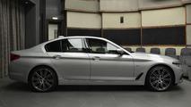 2017 BMW 540i Sport Line at Abu Dhabi Motors