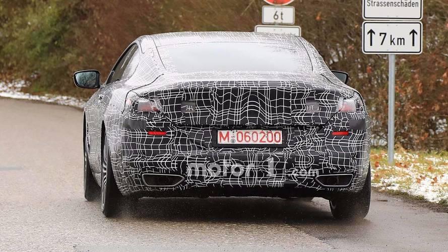 BMW Serie 8 con acabado M Sport fotos espía