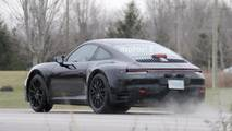 Porsche 911 Interior Spy Shots