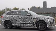 2019 Jaguar F-Pace SVR spy photo