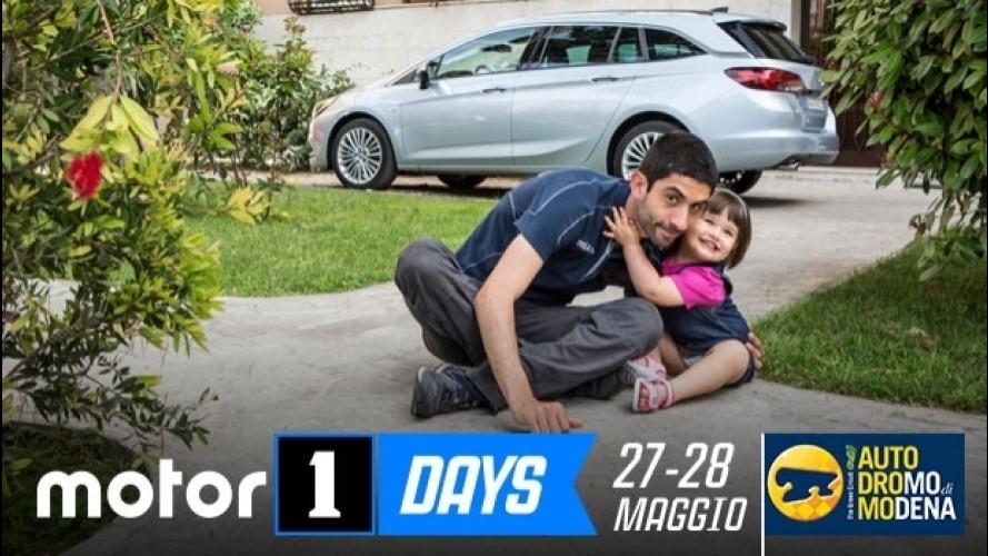 Motor1Days: una festa per tutti, famiglie comprese