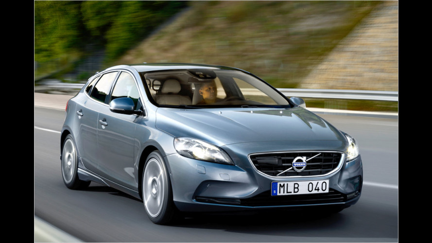 Premiere für Volvo V40