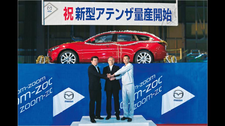 Neuer Mazda 6: So sieht der Kombi aus