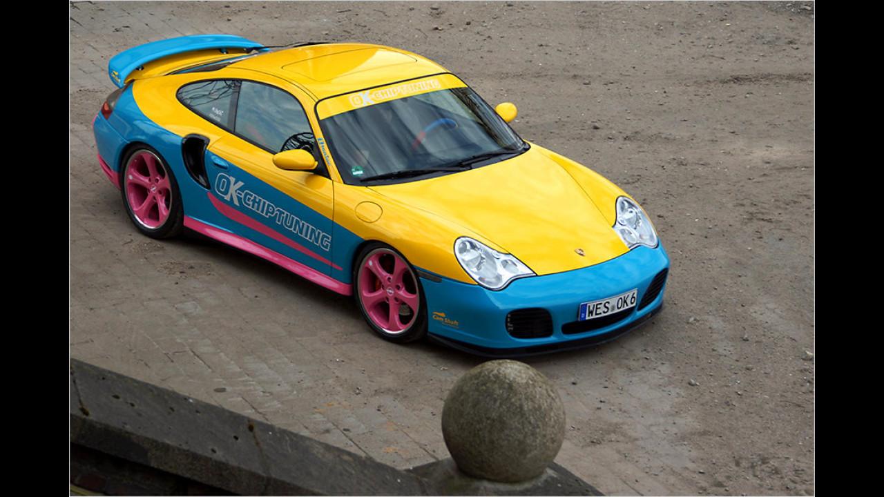 Porsche 911 Turbo von OK Chiptuning ,Manta Manta