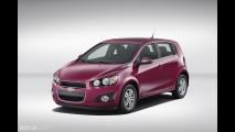 Chevrolet Sonic Deep Magenta Metallic