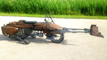 Speeder Bike from Star Wars recreation