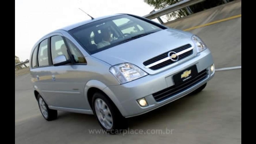 Chevrolet Meriva com motor 1.4 Econo.flex deve chegar em setembro