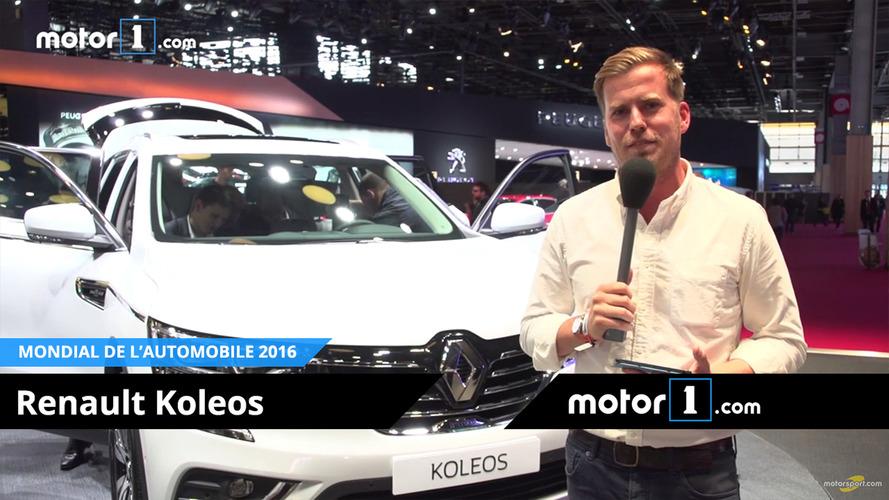 VIDÉO - A la rencontre du Renault Koleos Initiale Paris au Mondial !
