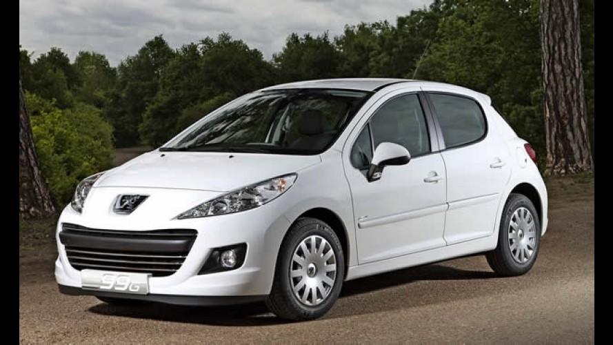 Novo Peugeot 207 Economique tem consumo de 26,31 km por litro de diesel na Europa