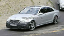 Mercedes S 63 AMG Facelift spy photo