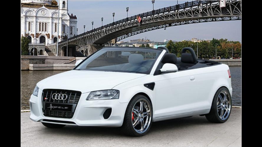 Hofele tunt das A3 Cabrio: Des Offen-Audis neue Kleider