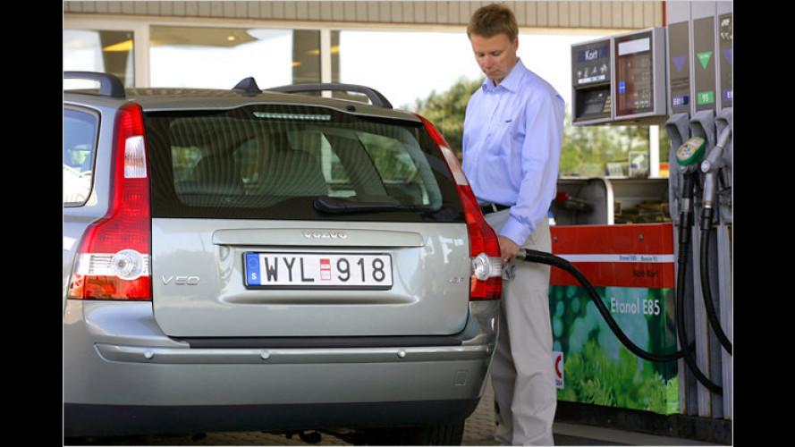 Bioethanol: E85-Tankstellen jetzt als POIs für Garmin-Navis