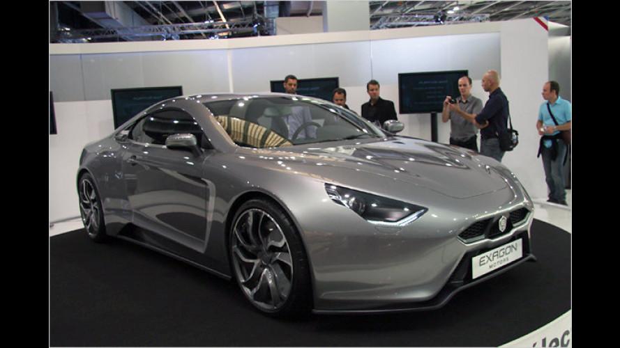 Exagon Furtive-eGT: 340 Elektro-PS und viel Reichweite