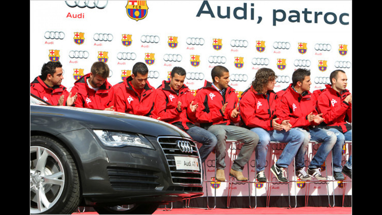 Audis für Barca und Real