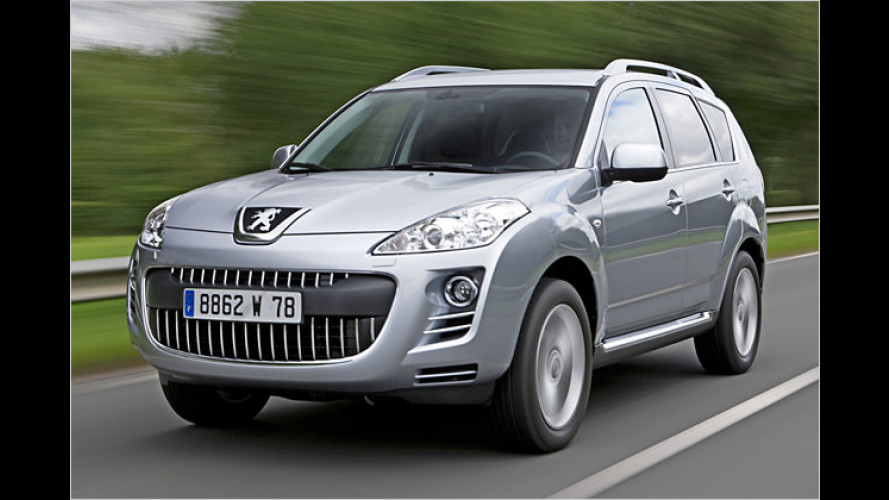 Peugeot 4007: Doppelkupplung kommt, Benziner geht