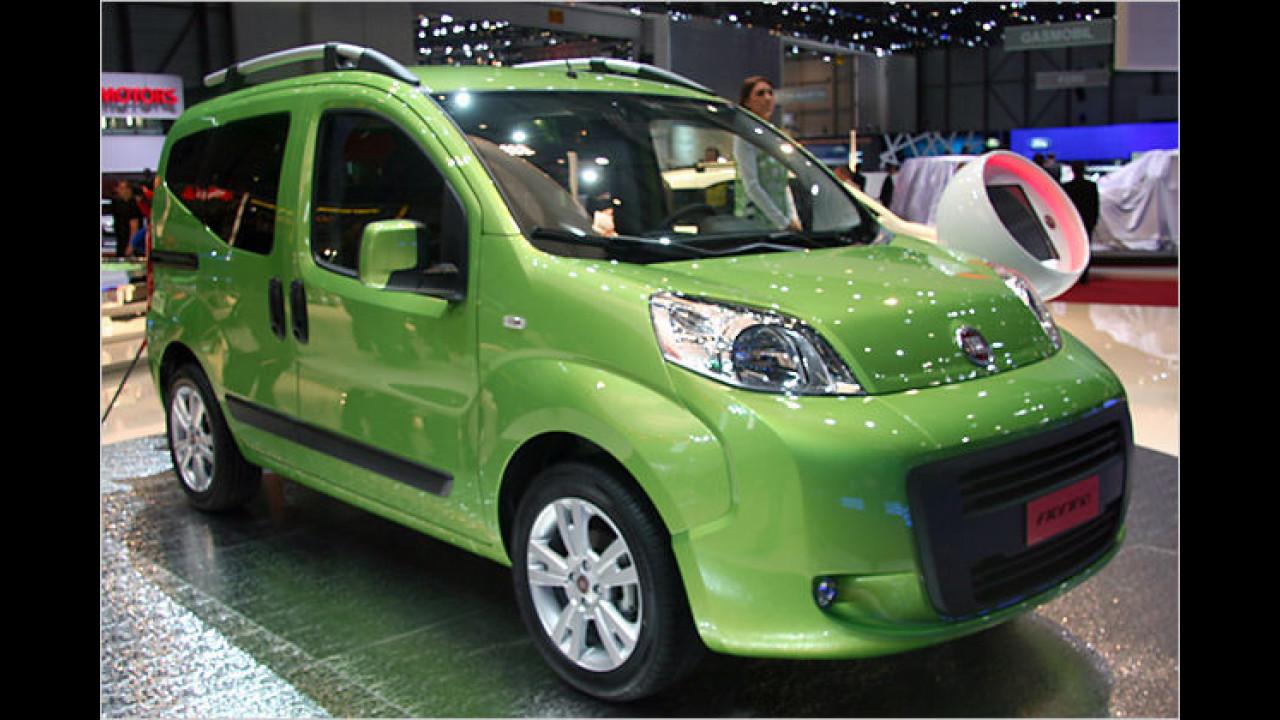 Fiat Fiorino: Der kompakte Kleintransporter soll vor allem durch seinen günstigen Preis überzeugen