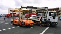 German Prince Crashes Gemballa Carrera GT