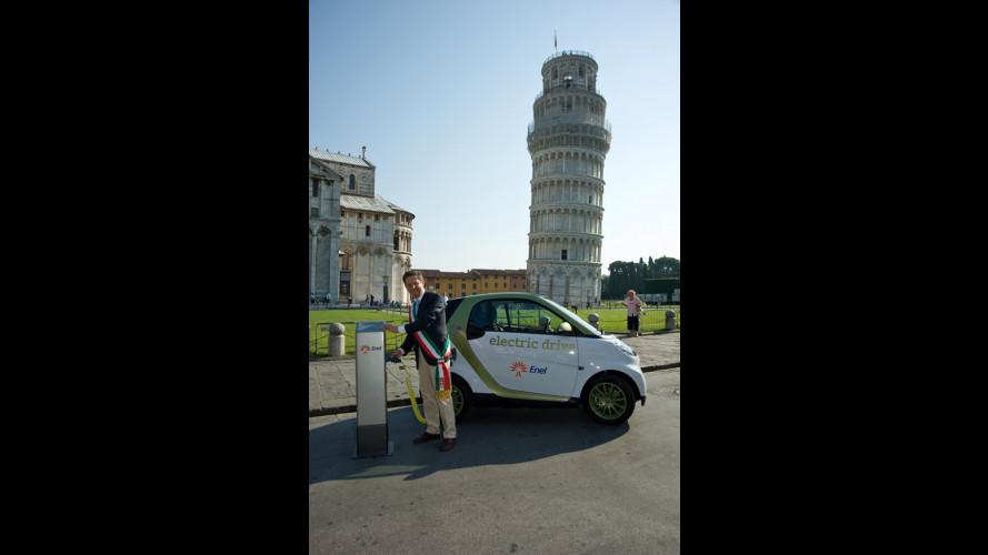 e-mobility Italy è arrivato a Pisa
