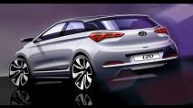 Nuova Hyundai i20: primi rendering
