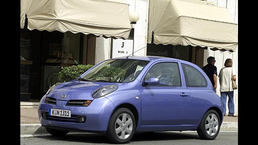 Nissan: Preiserhöhungen bei Micra, Almera Tino und X-Trail
