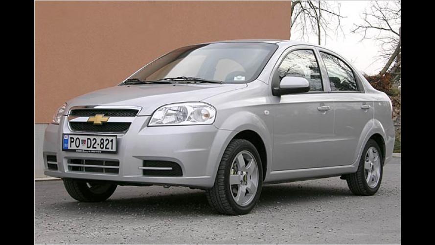 Der neue Chevrolet Aveo: Eine Stufe höher