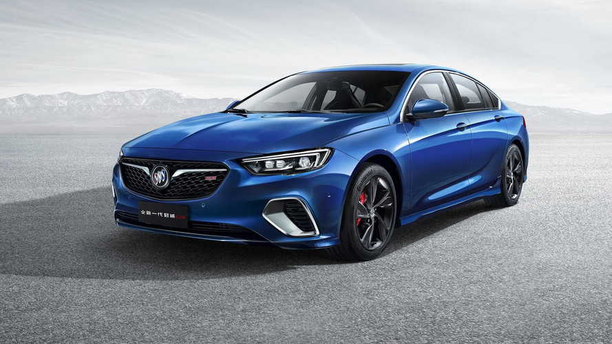 2018 Buick Regal GS First Official Images Are Out