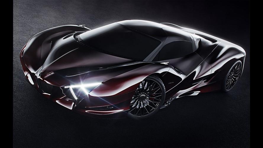 Jaguar X Design Concept Proposes Sharp XJ 220 Successor
