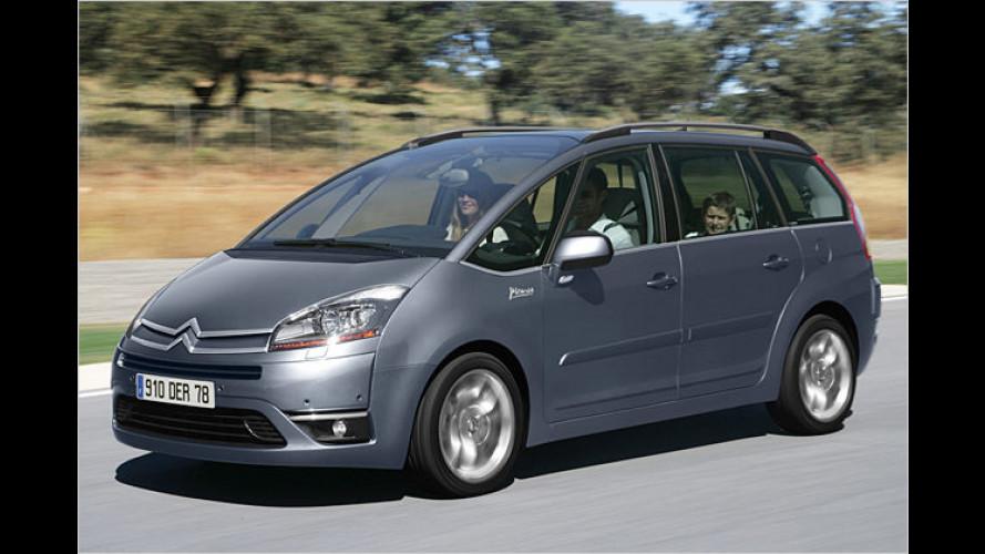 Citroën C4 Picasso: Sieben Plätze mit Panoramaaussicht