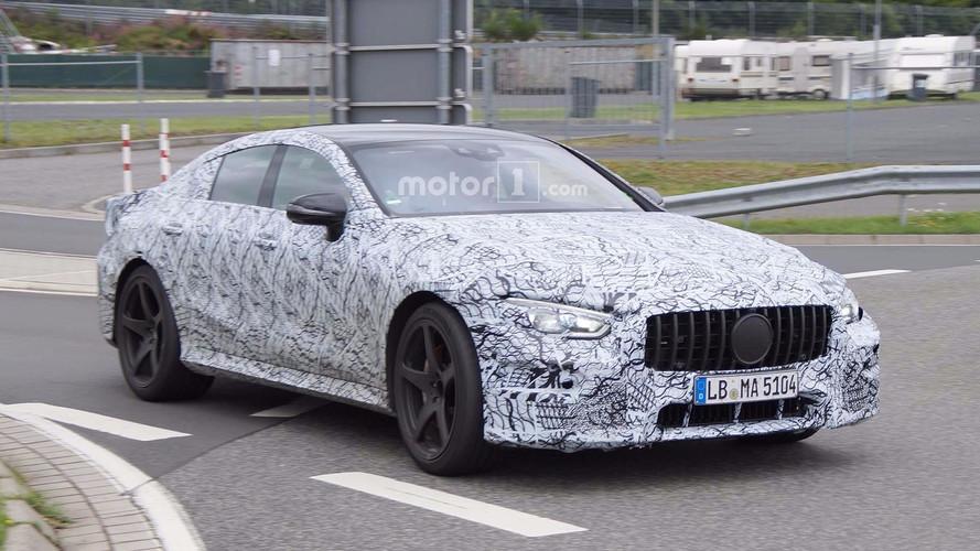 Mercedes-AMG GT Four-Door Spy Photos