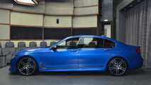 BMW M760Li xDrive Estoril Blue