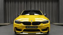 BMW M3 Speed Yellow