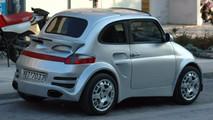 Fiat 500 Porsche 911