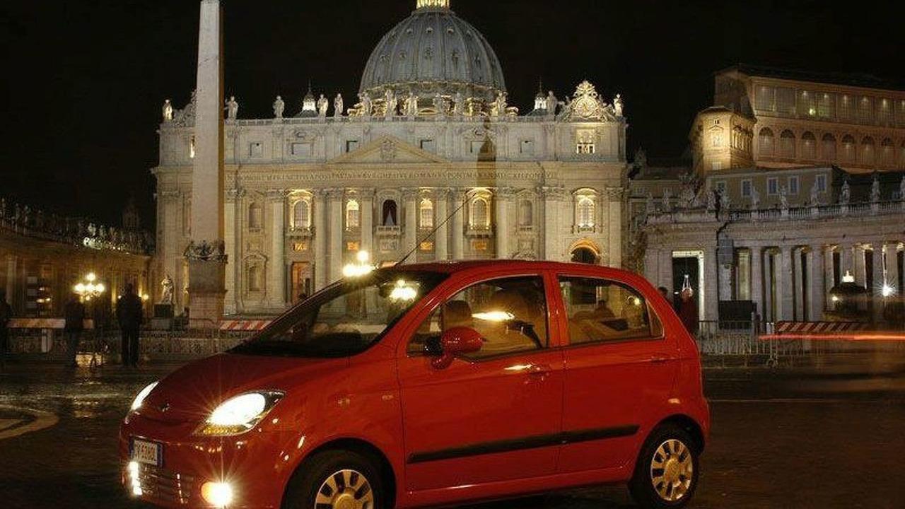 Chevrolet Matiz in Rome