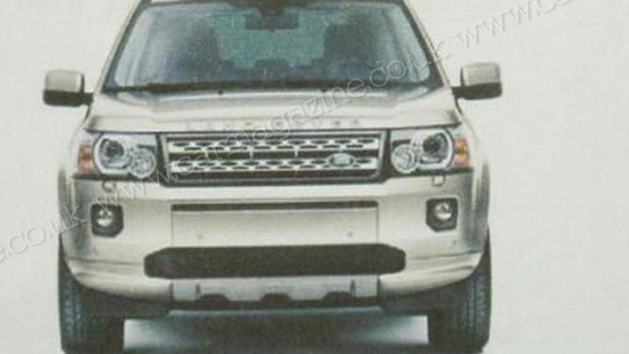 2011 Land Rover Freelander / LR2 facelift leaked brochure images