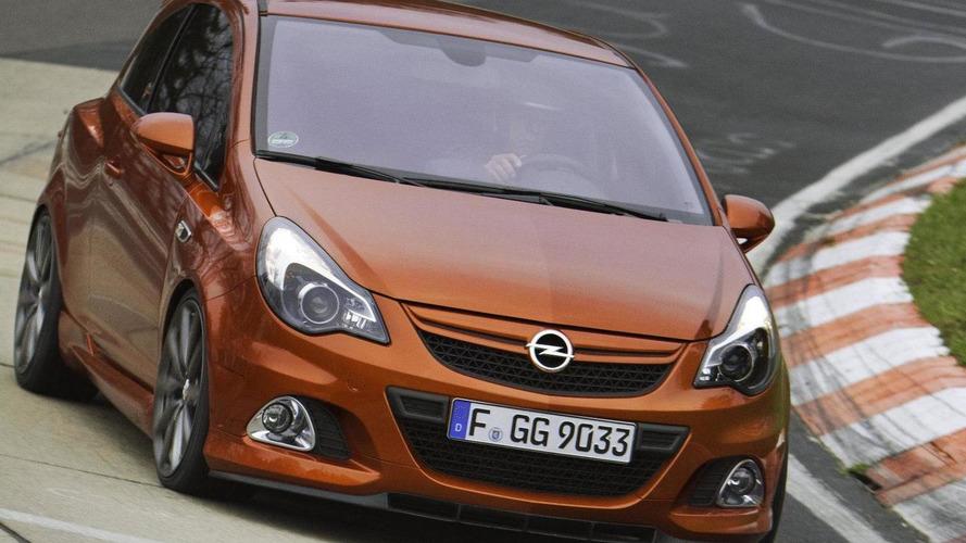 Opel Vauxhall Corsa OPC Nürburgring Edition revealed