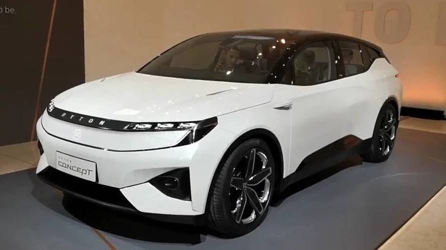 Byton Reveals Near-Production Electric SUV
