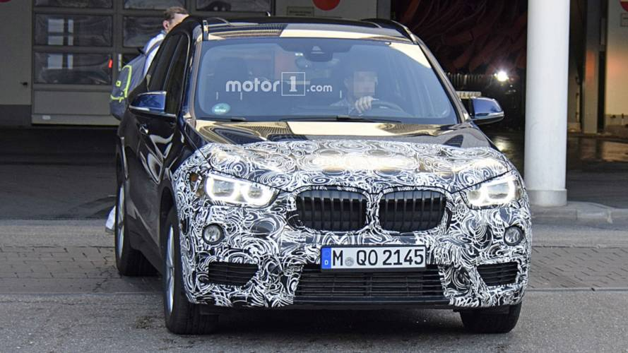 Flagra: BMW X1 prepara reestilização e deve ser lançado em 2019