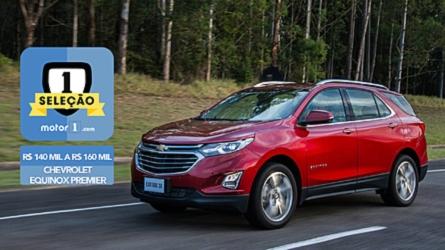 Seleção Motor1.com: Chevrolet Equinox Premier vence categoria de R$ 140 mil a R$ 160 mil