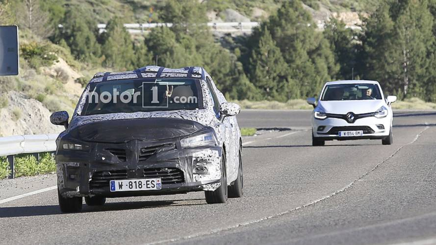 New Renault Clio Spied Testing With The Old Model