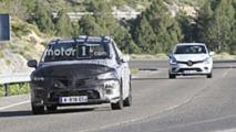 Renault Clio spy photos
