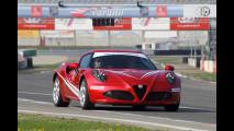 Giulia Quadrifoglio e le altre al Corso di Guida Evoluta Alfa Romeo