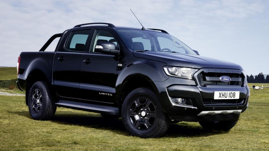 Ford Ranger Black Edition, imponente e misterioso