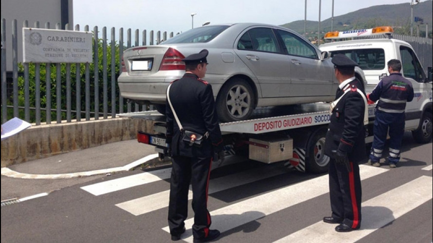 Auto senza Rca, scatta la confisca senza la riattivazione della polizza