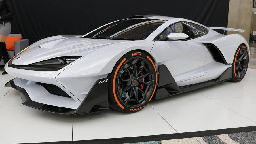 Así es el Aria FXE, un superdeportivo híbrido, con 1.150 CV