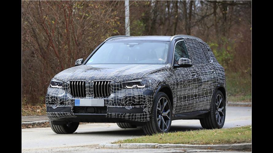 Nächster BMW X5 legt Tarnung ab