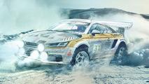 Audi TT rally car