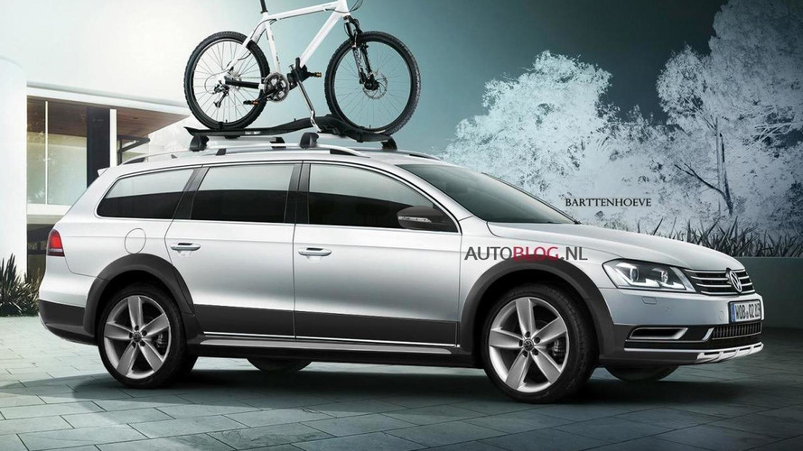2012 Volkswagen CrossPassat rendered