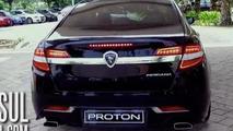 2016 Proton Perdana makes unofficial debut