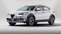 Alfa Romeo compact SUV rendering